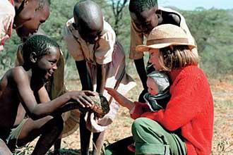 Příběh se odehrává na farmě v africké Keni
